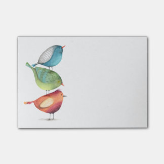 Birds Post-it Notes