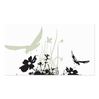 Birds Profile Card Pack Of Standard Business Cards