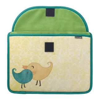 Birds Rickshaw Flap Sleeve MacBook Pro Sleeves