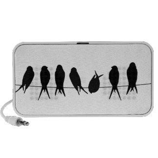 birds notebook speaker