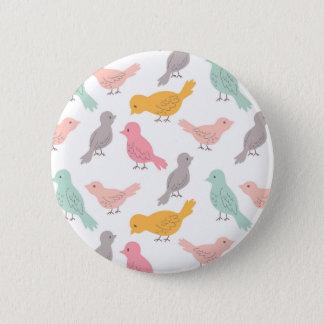 Birds Standard, 2¼ Inch Round Button