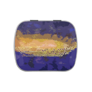 Birds, Sunset, Jelly Belly Candy Tin