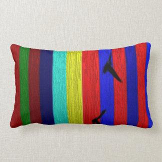 Birds that fly - Matheus Digital Painting Lumbar Pillow