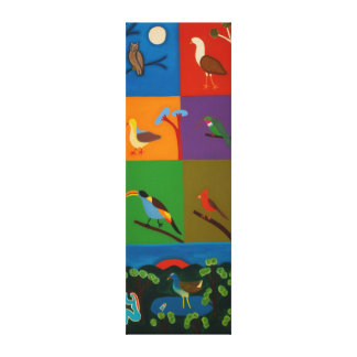 Birds that Visit the Valley of Bogota 2008 Canvas Print