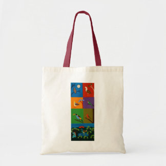 Birds that Visit the Valley of Bogota 2008 Tote Bag