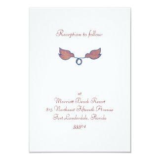 Birds with Stefana Reception Personalized Invite