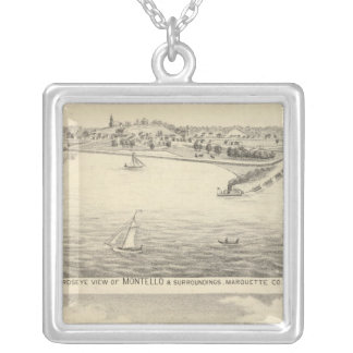 Birdseye view of Montello Silver Plated Necklace