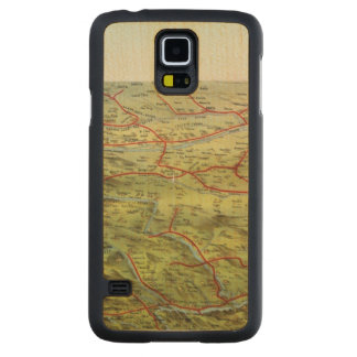 Birdseyes View Great Plains Maple Galaxy S5 Case