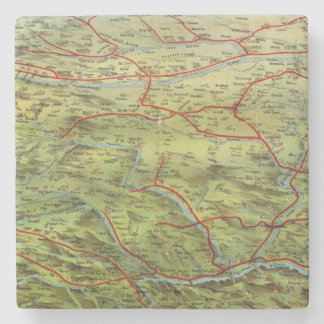 Birdseyes View Great Plains Stone Beverage Coaster