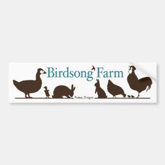 Birdsong Farm Bumper Sticker