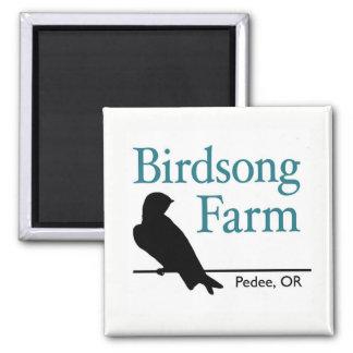 Birdsong Farm - Perching Swallow Magnet