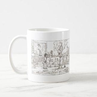 Birdtrees of Betown #01 Basic White Mug