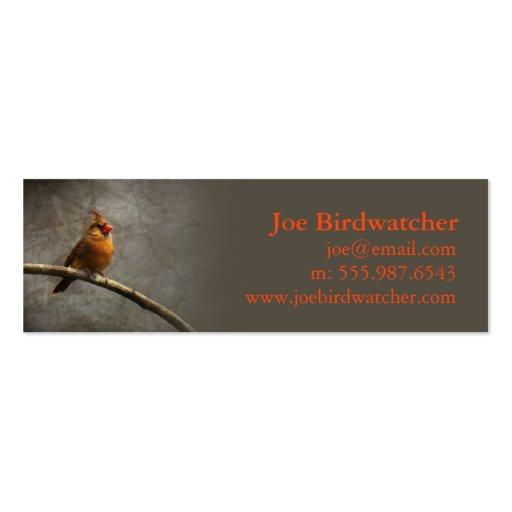 Birdwatcher Goal Business Card Templates