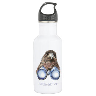 Birdwatcher Hawk Bird Watching You Humor 532 Ml Water Bottle