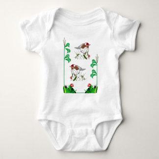 Birdwatchers delight baby bodysuit