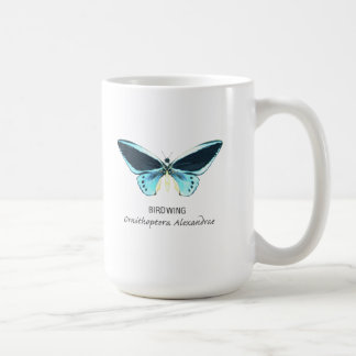 Birdwing Butterfly with Name Coffee Mug
