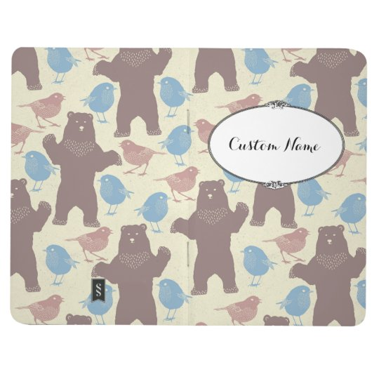 Birdy Bear Bullet Journal with Personalised Name