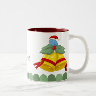 Birdy Bells Two-Tone Coffee Mug