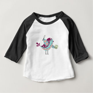 """Birdy Crocker"" Bird Baby Shirt"