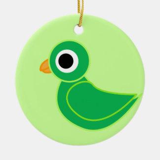 birdy christmas ornament