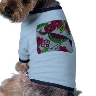 birdy doggie tee shirt