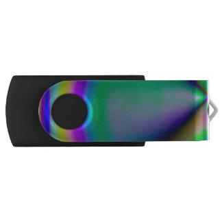 Birefringent pattern USB flash drive