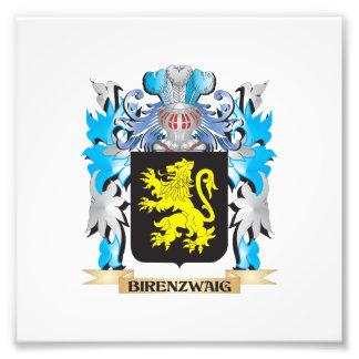 Birenzwaig Coat of Arms Photo Print