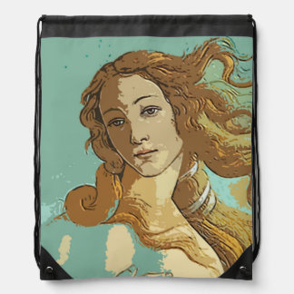 Birh of Venus, Goddess Drawstring Bag