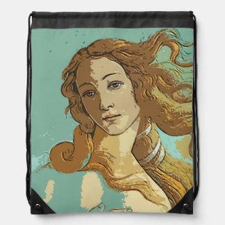 Birh of Venus, Goddess Drawstring Bags