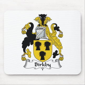 Birkby Family Crest Mouse Mat
