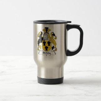 Birkby Family Crest Stainless Steel Travel Mug