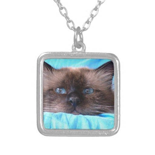 Birman Cat Necklace