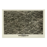 Birmingham, AL Panoramic Map - 1903 Poster