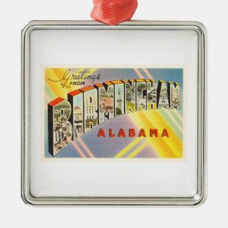 Birmingham Alabama AL Old Vintage Travel Souvenir Christmas Ornament