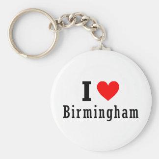 Birmingham, Alabama City Design Key Ring