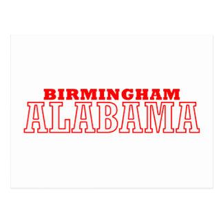 Birmingham, Alabama City Design Postcard