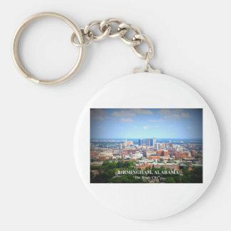 Birmingham Alabama Skyline Key Chain