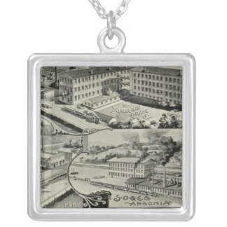 Birmingham Brass Co Silver Plated Necklace