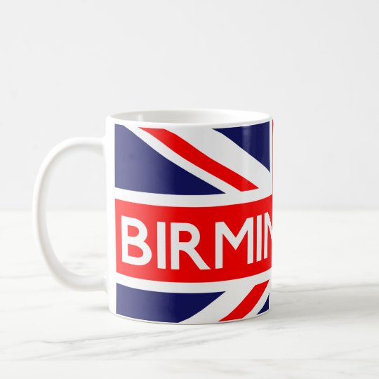 Birmingham : British Flag Coffee Mug