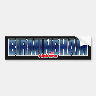 Birmingham Bumper Bumper Stickers