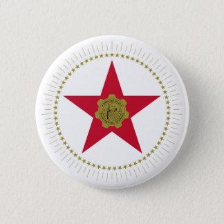Birmingham city Alabama flag united states america 6 Cm Round Badge