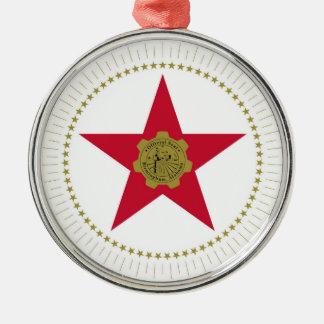 Birmingham city Alabama flag united states america Christmas Ornament