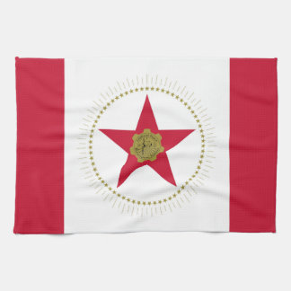 Birmingham city Alabama flag united states america Tea Towel