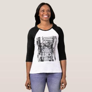 Birmingham Cityscape 0121 Do One on ladies T-shirt