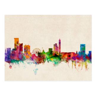 Birmingham England Skyline Cityscape Postcards