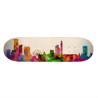 Birmingham England Skyline Cityscape Skate Board Decks