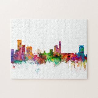 Birmingham England Skyline Jigsaw Puzzle