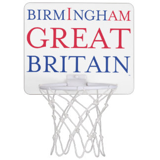 Birmingham Great Britain Basketball Mini Basketball Hoop