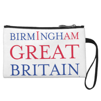 Birmingham Great Britain Clutch Bag