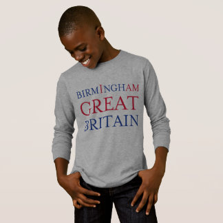 Birmingham Great Britain Long Sleeve Tshirt